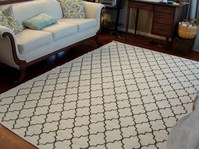 @Jennifer Milsaps L Kostelyk don't know if you found a rug yet, but here's 17 DIY rugs!