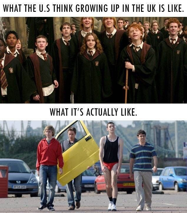Because <i>The Inbetweeners</i> was basically a documentary about your life in secondary school.