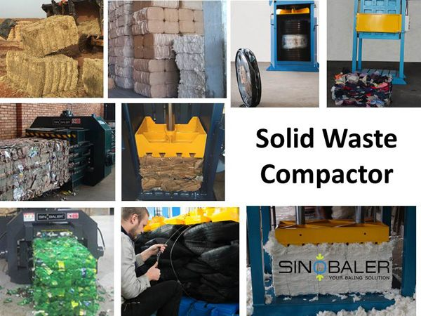 Solid waste is common and solid waste recycling becomes more and more important. Solid waste compactor is an necessary baling machine for solid waste size reduction purpose.