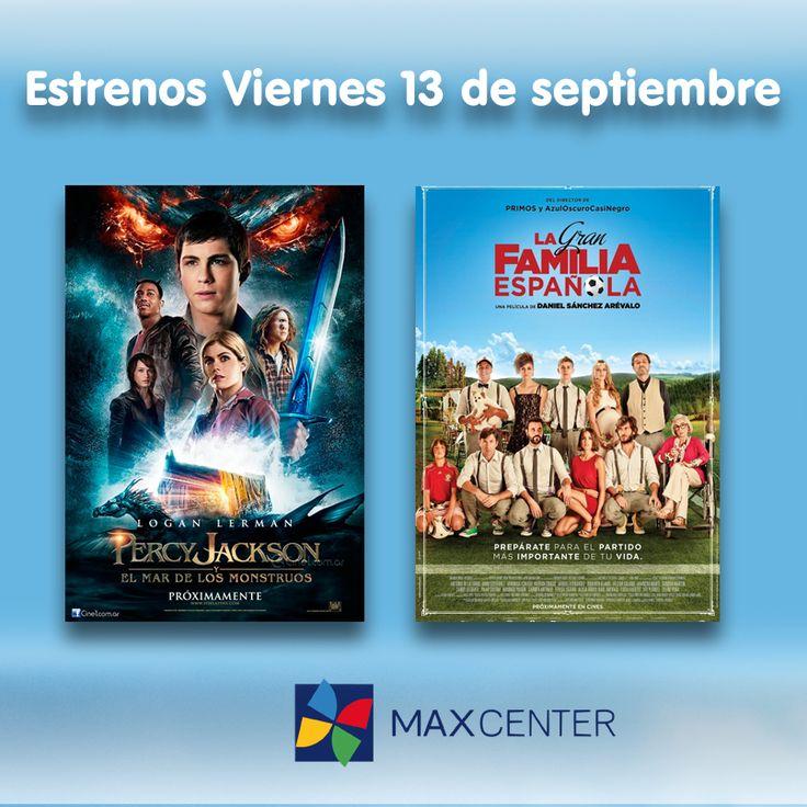 """Hoy es Viernes de #Estrenos y os queríamos recomendar dos de ellos, la nueva de la saga """"Percy Jackson"""" para que toda la familia disfrute de esta historia de ciencia ficción y un film español que promete muchas risas """"La gran familia española""""."""