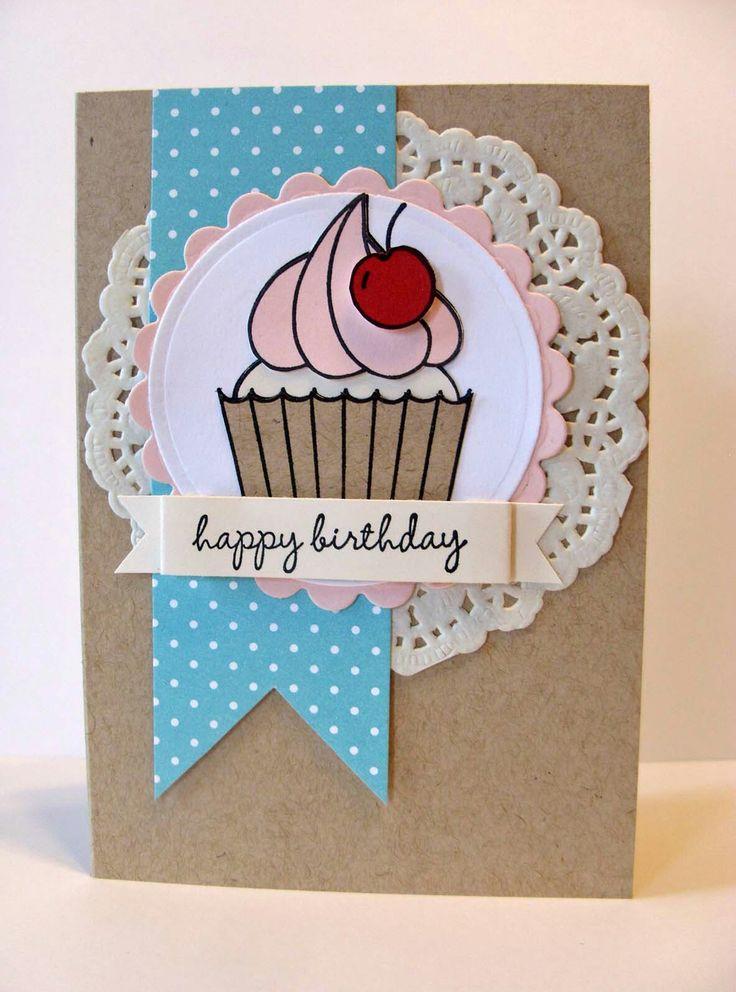 как сделать открытку ко дню рождения своими руками тете простые полумахровые белые