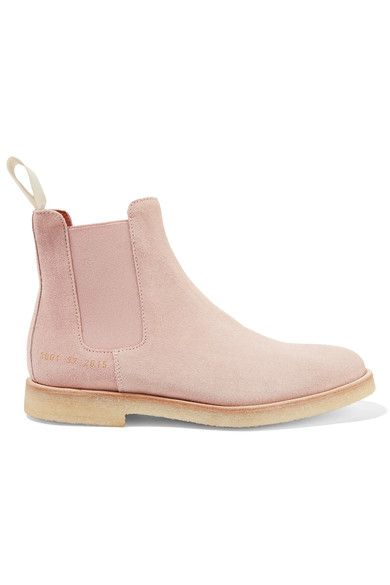 COMMON PROJECTS Suede Chelsea Boots. #commonprojects #shoes #boots