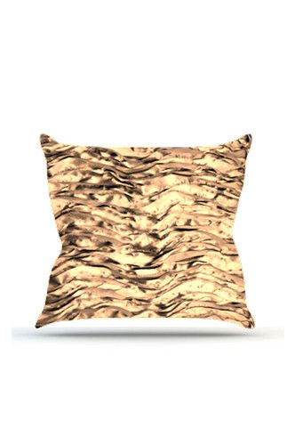 PRP737 Gold Wave Cloth Posing Pillow Cover