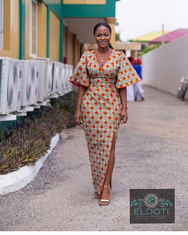 So lovely! ~African fashion, Ankara, kitenge, African women dresses, African prints, African men's fashion, Nigerian style, Ghanaian fashion ~DKK