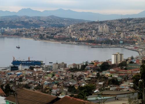 Valparaíso... Desde Playa Ancha.