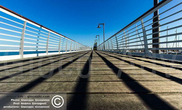 Simply Photo - BEST PLACES TO VISIT IN ITALY - ROMAGNA - CATTOLICA - Porto - Passeggiata di legno