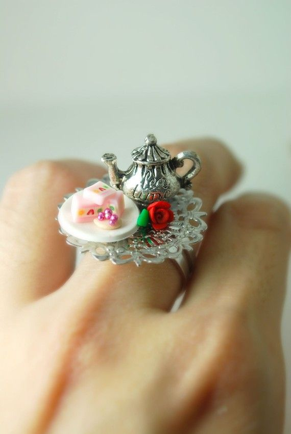 Tea Party Ring DIVINEsweetness $26.50