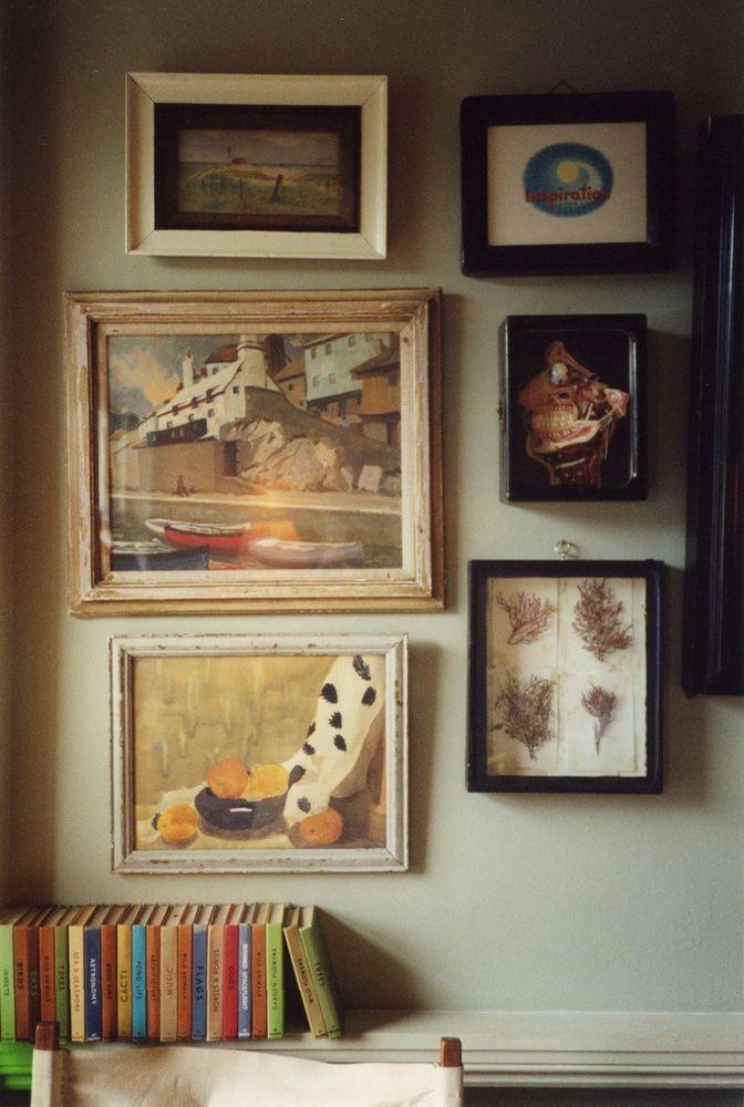 LONDON HOME of Stephen Male and clothing designer Jessica Ogden Interior design Stephen Male 1997