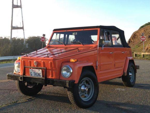 BaT Exclusive: Proven 1973 Volkswagen Type 181 Thing