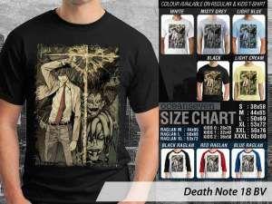 Kaos Anime Death Note Terbaru, Kaos Anak-anak Anime Death Note