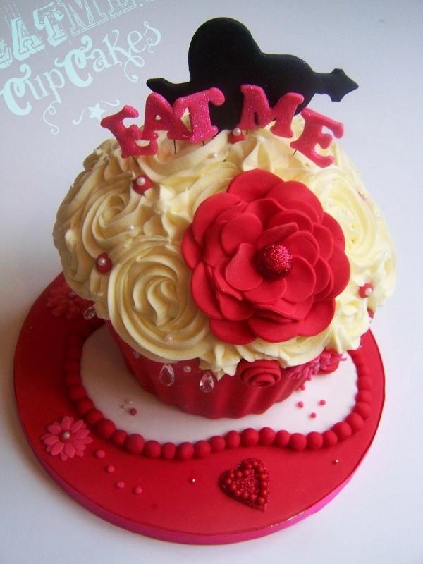 giant cupcake valentines