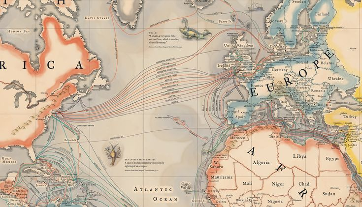 A map of all the underwater cables that connect the internet - Vox