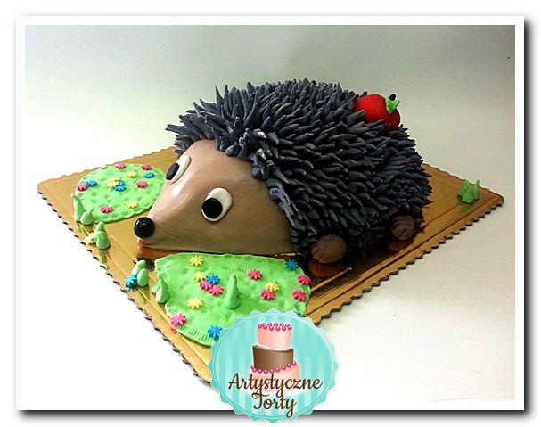 tort z jeżem