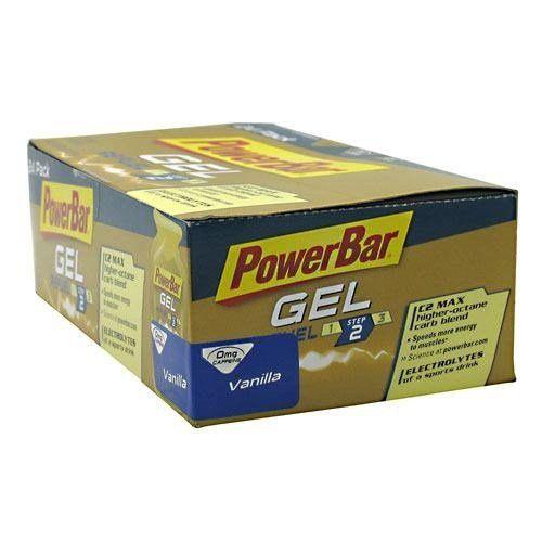 PowerBar PowerBar Gel, Vanilla, 24 ea