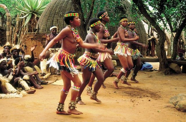The largest ethnic groups of South Africa, Zulu who are actually descended from the Nguni tribes live in South African province KwaZulu-Natal.