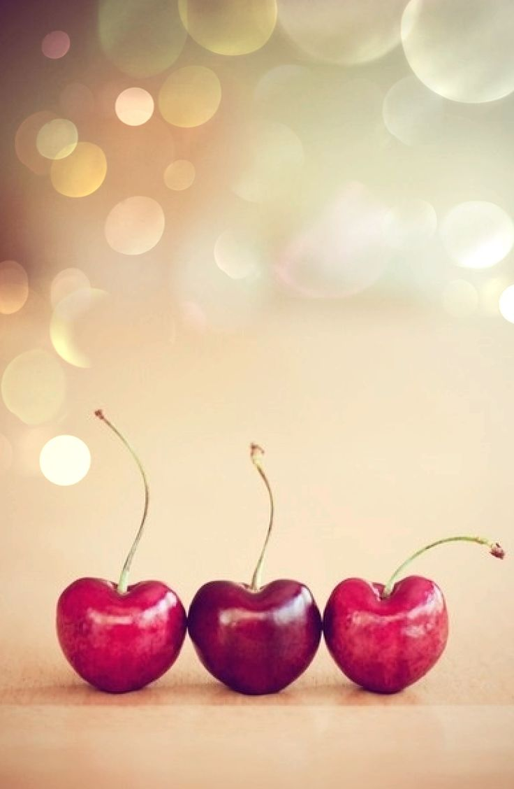 Bokeh - Cherries - Photography Oh I'd love to put rings on these