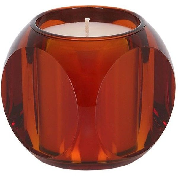 Kartell Fragrances Home Dice Candle ($80) ❤ liked on Polyvore featuring home, home decor, candles & candleholders, orange, orange home accessories, orange candle and orange home decor