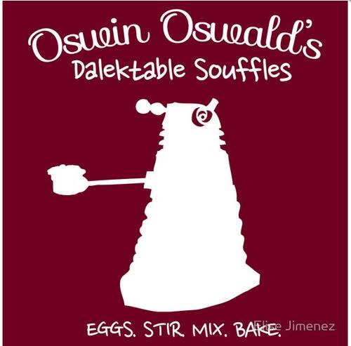 Oswin Oswald's Dalektable SoufflesEggs, Dalek Funny, Doctorwho, Oswald Dalekt, Dalekt Souffle, Doctors Who, Oswin Oswald, Dr. Who, Fans Art