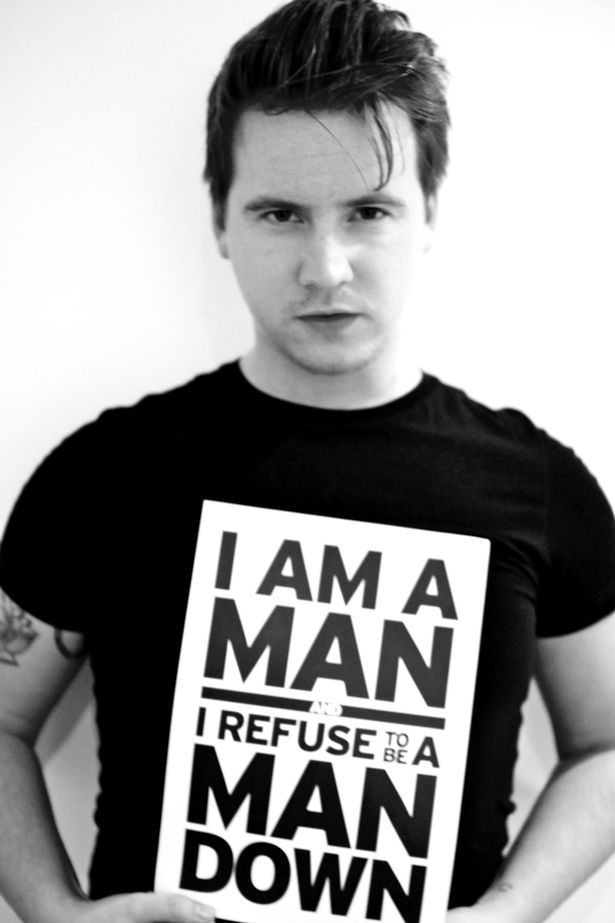 Liverpool stand-up comedian Jake Mills, who is a supporter of the anti-suicide charity CALM (Campaign Against Living Miserably)