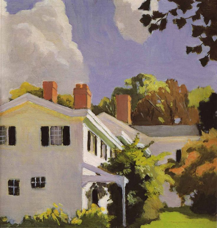 "fairfield porter value of paintings | Fairfield Porter – ""Mystery that is Essential to Reality ..."