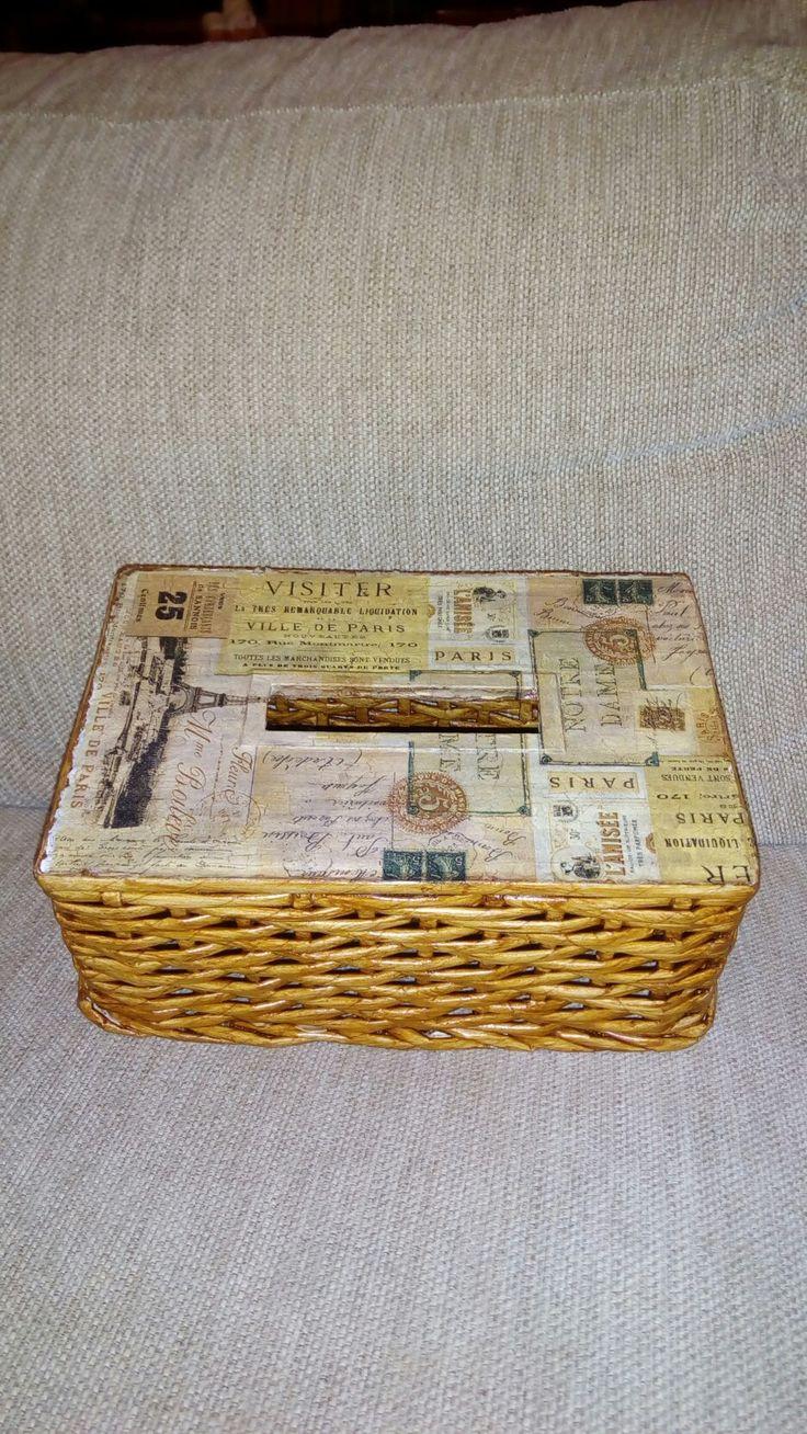 Box na papírové kapesníky