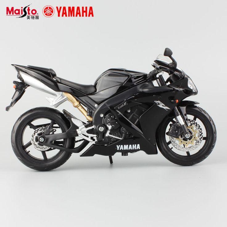 Original maisto new children mini Yamaha Supercross YZF R1 metal die cast models motor bike motorcycle race car alloy metal toys
