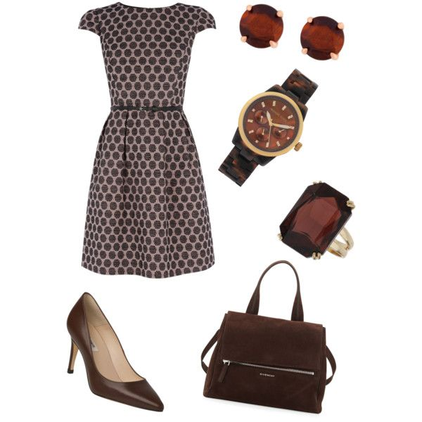 A fashion look from October 2014 featuring Oasis dresses, L.K.Bennett pumps and Givenchy handbags. Browse and shop related looks.