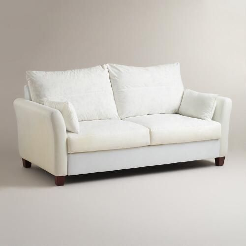 One of my favorite discoveries at WorldMarket.com: Luxe Sofa Frame