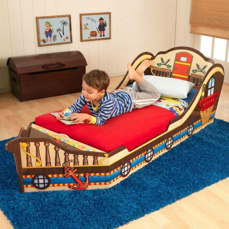 25+ best ideas about kinderbett schiff on pinterest ... - Kinderzimmer Gestalten Piratenschiff