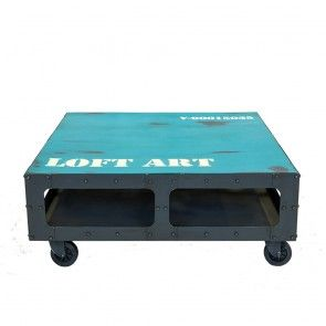 LOFT ART журнальный металлический столик
