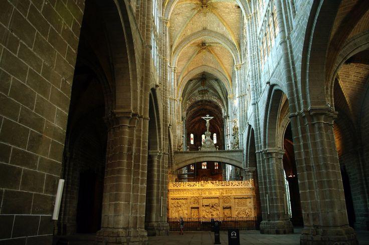Fotos de: Ávila - Catedral del Salvador - Vista Interior