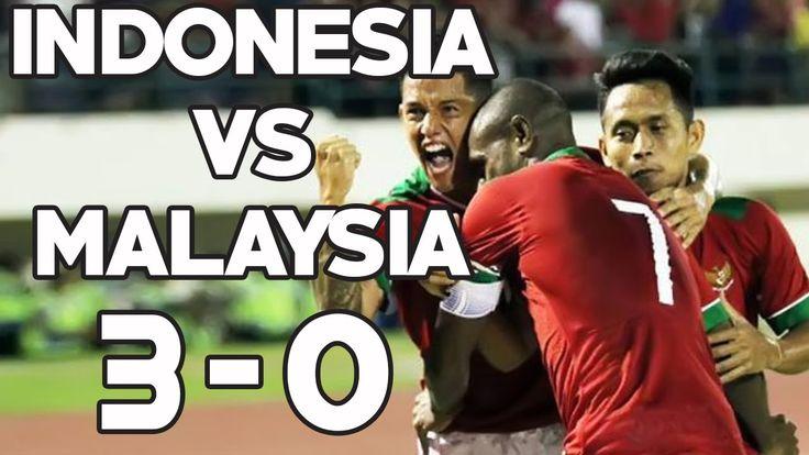 Mantab!!! Timnas Indonesia Cukur Gundul Malaysia 3-0  di Stadion Manahan...
