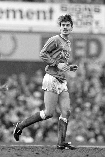 Former Everton midfielder Ian Snodin
