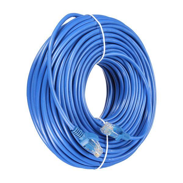 30m Blue Cat5 RJ45 Ethernet Cable For Cat5e Cat5 RJ45 Internet Network LAN Cable Connector