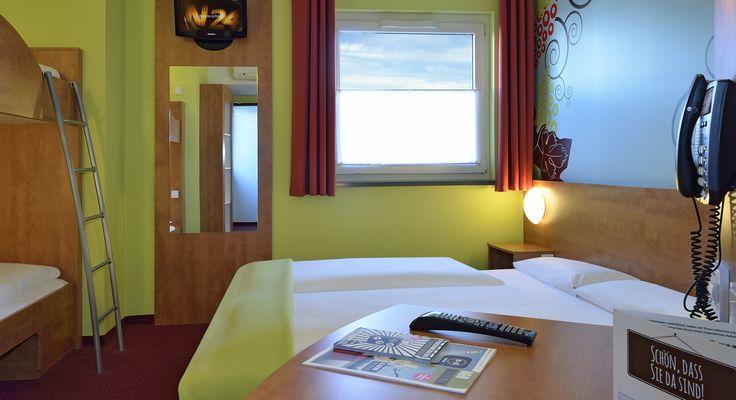 Familienzimmer im B&B Hotel Koblenz