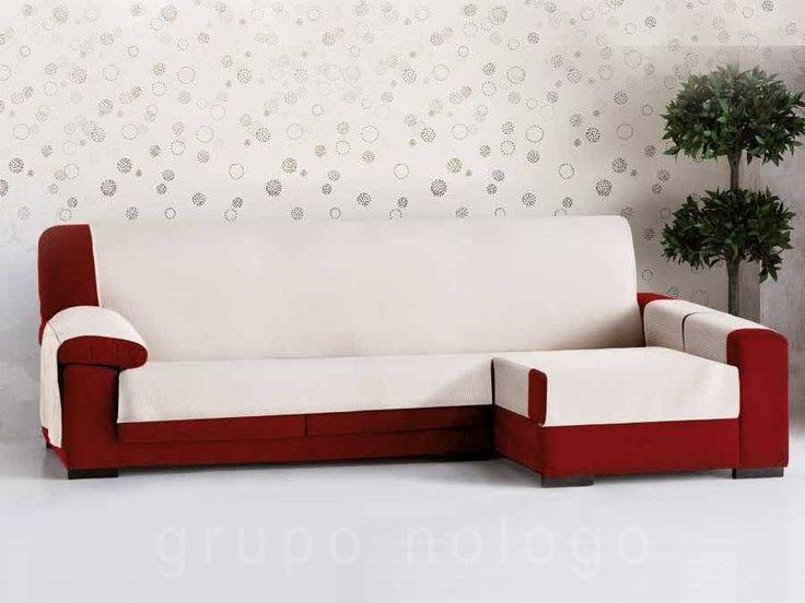 Funda sofá chaise longue Bianca
