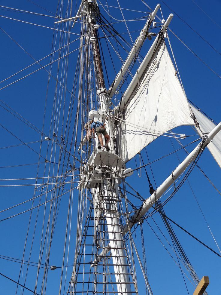 Tall ships at Mystic