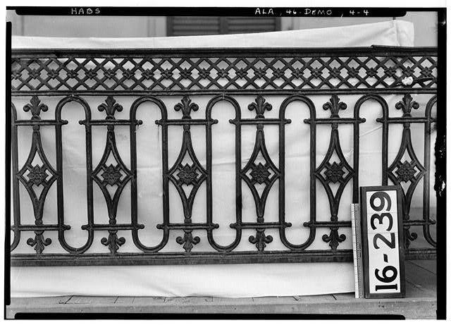 Lyon House, 102 South Main Street, Demopolis, Marengo County, AL ca. 1835 - Photos from Survey HABS AL-239   Library of Congress