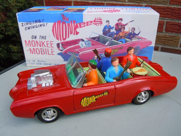 Aoshin Monkee Mobile. Battery/Friction toy 50s/ebay