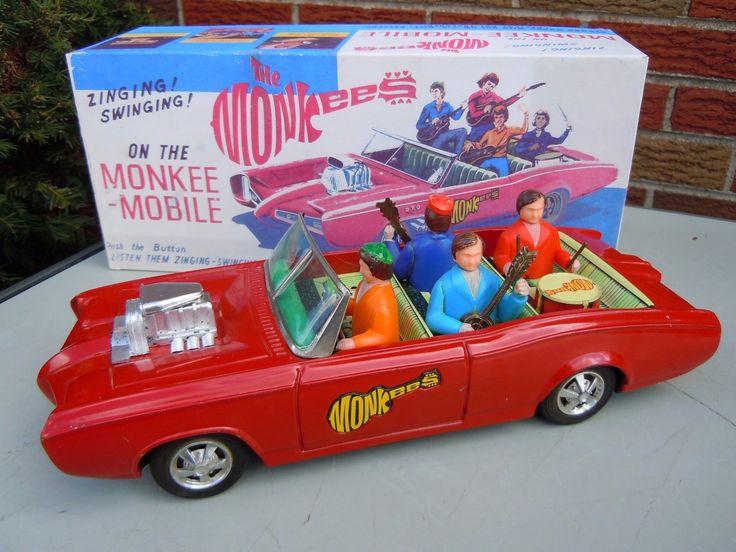 Aoshin Monkee Mobile. Battery/Friction toy 50s/ebay