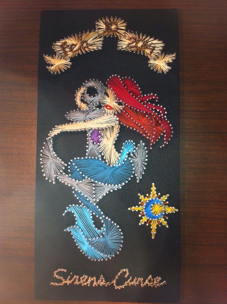 Mermaid String Art String Art Pinterest String Art