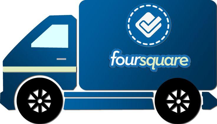 Caminhão Foursquare - Foursquare truck