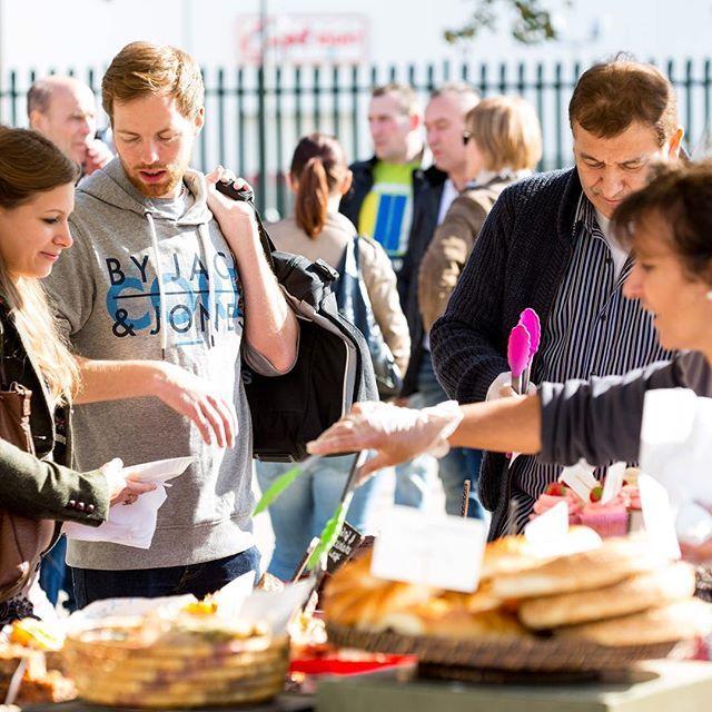 Weekly food market at Wembley Park