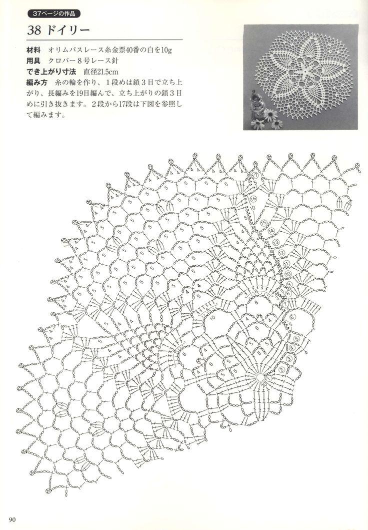 111 best images about crochet lace doily 2 on pinterest