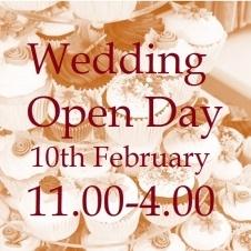 Wedding Open Day => Shrewsbury Shropshire