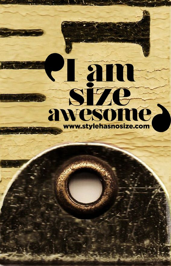 'I am size awesome'