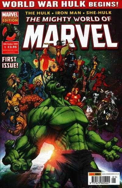 The Mighty World of Marvel #1 - World War Hulk begins! (Issue)