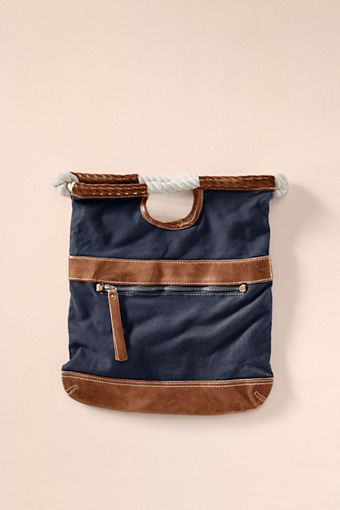 Women's Fold Over Clutch from Lands' End CanvasFoldover Satchel, Canvas Folding, Canvas Clutches, Lands End, Totes Bags, Land End, Woman Clothing, Women Folding, Canvases