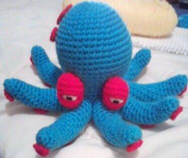Free Amigurumi Smaller Octopus Pattern