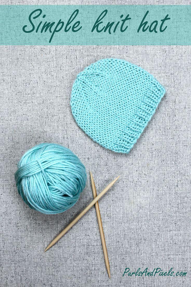 Best 25 knitting patterns ideas on pinterest knitting knitting basic knit hat bankloansurffo Choice Image